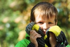 Free Autumn Portrait Stock Photos - 16916793