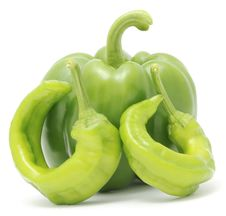 Free Hot And Sweet Peppers Stock Image - 16917281