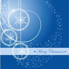 Free Christmas Background With Ball Stock Photo - 16917900