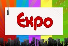 Free Expo, Illustration Royalty Free Stock Photography - 16918147