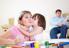 Free Mother And Daughter Together Stock Photos - 16918173