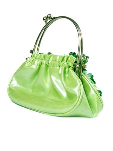 Free Green Handbag Stock Photography - 16918292