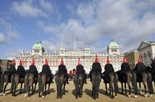 Free Horse Guards Parade With Old Admiralty Building Royalty Free Stock Photo - 16918445