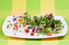 Free Fresh Salad Royalty Free Stock Photography - 16918447