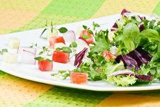 Free Fresh Salad Royalty Free Stock Photography - 16918527