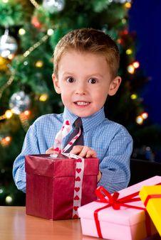 Free Christmas Gift Stock Image - 16918761
