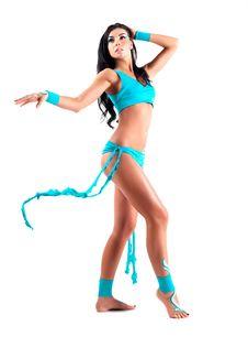 Dancer With Bodyart Royalty Free Stock Photos