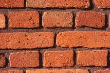 Free Red Bricks Background Royalty Free Stock Image - 16919366