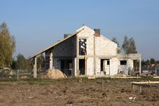 Free House Under Construction Stock Images - 16919484