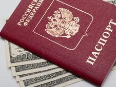 Free Passport Royalty Free Stock Photography - 16919587