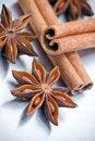 Free Cinnamon Sticks And Star Anise Stock Photo - 16921680
