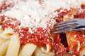 Free Penne With Tomato Sauce Stock Photography - 16922222