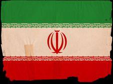 Free Old Vintage Flag Iran Stock Images - 16921514