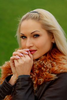 Free Portrait Beautiful Blonde Royalty Free Stock Photos - 16921518