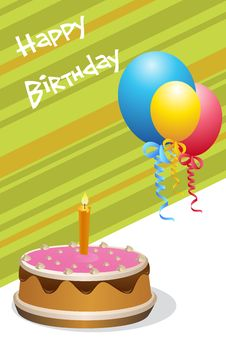 Free Birthday Card Stock Photo - 16921880