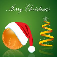Free Merry Christmas Card Stock Photo - 16921900