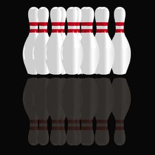 Free Bowling Pins Stock Photo - 16921970