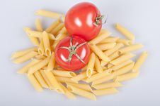 Free Penne Rigate With Tomatoes Royalty Free Stock Image - 16922316