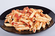 Free Penne With Tomato Sauce Stock Image - 16922401