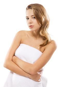 Free Beautiful Woman After Bath Stock Image - 16922841