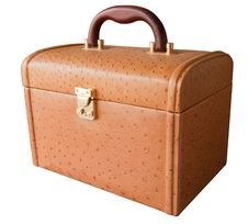 Free Brown Leather Box Royalty Free Stock Image - 16922846
