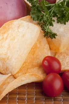 Free Potato Chips Royalty Free Stock Image - 16922946