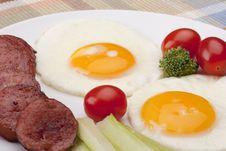 Free Fried Eggs Stock Photos - 16922963