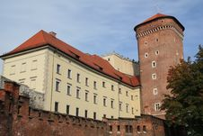 Free Wawel Castle Royalty Free Stock Image - 16923426