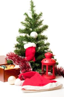 Free Christmas Tree Royalty Free Stock Photography - 16924337