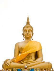 Free View Of Buddha Statue Royalty Free Stock Photo - 16924545
