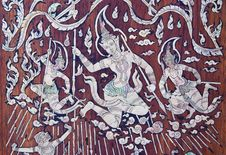 Free Thai Art Stock Image - 16924881