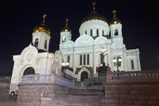 Free Cathedral Of Christ The Savior In Moscow, Russia Stock Photography - 16925142