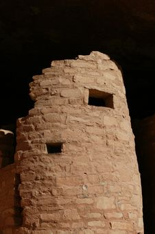 Free Cliff Dwellings In Colorado Springs2 Royalty Free Stock Photo - 16925415