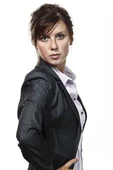 Free Beautiful Businesswoman Portrait Stock Photo - 16925450