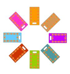 Free Colored Rectangle Labels Set Stock Photos - 16925583