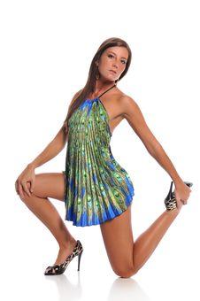 Young Model Posing Royalty Free Stock Photos