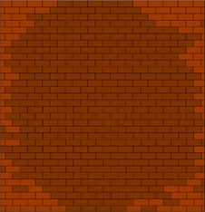 Free Cracked Brick Wall Texture Royalty Free Stock Photos - 16925768