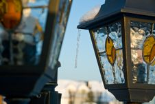 Free Street Lanterns Royalty Free Stock Photos - 16925888