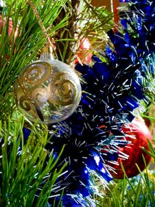 Free Christmas-tree Decorations Stock Photo - 16926110