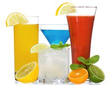 Free Cocktails With Fruits Stock Photos - 16926383