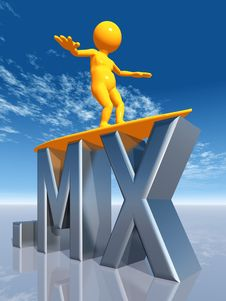 Free MX Top Level Domain Of Mexiko Royalty Free Stock Photo - 16926525