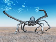 Free Giant Spider Royalty Free Stock Photo - 16926635