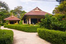 Free Walk Way In Resort Stock Photo - 16926670