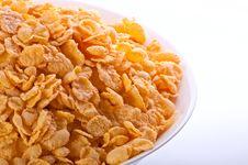 Free Goldish Corn Flakes Stock Photography - 16927582