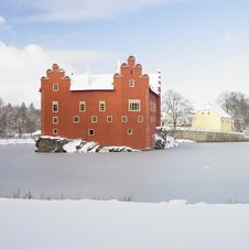 Cervena Lhota Castle Royalty Free Stock Photo