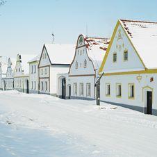 Free Holasovice In Winter Stock Photo - 16927970