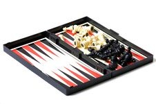 Free Backgammon Royalty Free Stock Image - 16928196