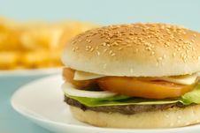 Free Ostrich Hamburger Stock Photos - 16928723