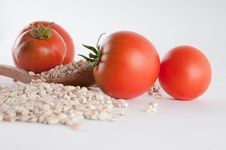 Free Grain And Tomatoes Stock Photo - 16928790
