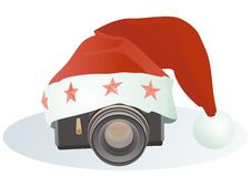 Free Christmas Camera Royalty Free Stock Photography - 16928807